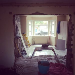 Archway re-plaster in Heald Green